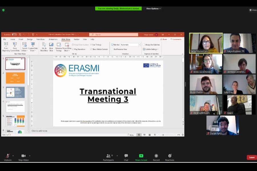 Third Transnational online Meeting